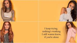 Little mix No More Sad Songs (acoustic)