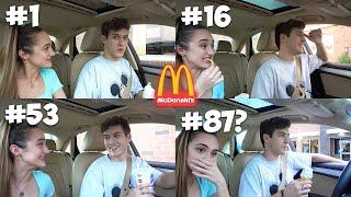 Driving Through The SAME McDonald's Drive Thru 100 Times...