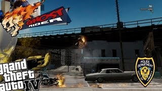 GTA IV LCPDFR Ghost Rider Mod Police Patrol - Episode 18 - Grand Theft Auto 5 For PC (+Webcam)