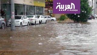 أرقام عن فيضانات جدة