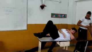 WWE Spear In The School