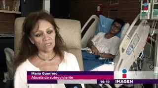 ¡SOBREVIVEN! Un niño del Rébsamen y una joven del Tec de Monterrey | Noticias con Yuriria Sierra