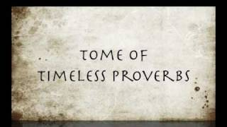 Timeless Proverbs