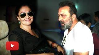 Sanjay Dutt and Pooja Bhatt Meet Vikram Bhatt! | VIDEO