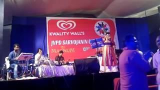 Aao Twist Karein & Jibone Ki Paabona LIVE For JVPD Sarvajonin Durgotsav-2016