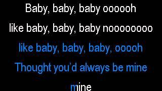 Justin Bieber & Ludacris - Baby (Karaoke)