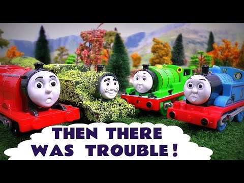 Thomas And Friends Play Doh Diggin Rigs Toy Story Trouble Accident Crash Tom Moss Toys Stories