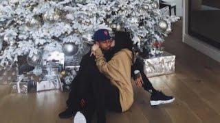 Kylie Jenner KISSES Tyga Under The Christmas Tree on Instagram
