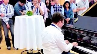 Eitan Altman Plays Piano In The City Hall Of Paderborn (1/2) July 2016