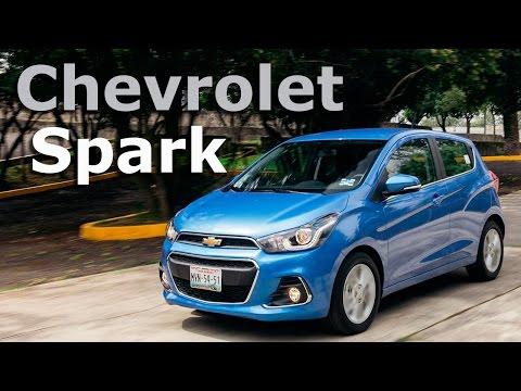 Chevrolet Spark 2016 el más vendido se renueva completamente