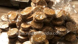 Making of Sohan Halwa in Ajmer - or is that Patisaa?