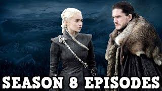 Game of Thrones Season 8 - Episode Runtimes Revealed