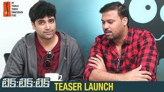 Tik Tik Tik Teaser Launch by Adivi Sesh | Jayam Ravi | Nivetha Pethuraj | #TikTikTik Telugu Movie