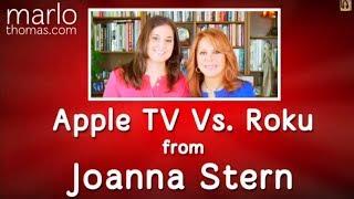 Joanna Stern on Apple TV vs. Roku