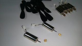 Hướng dẫn tháo bánh răng bằng đồng trên Motor coreless