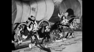 Clasicos Disney -  Mickey y Minnie en el oeste