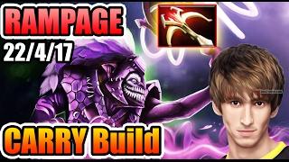 IMBA Dazzle CARRY Build - EZ RAMPAGE - Dendi Dota 2 7.02
