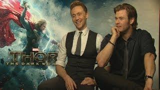 Thor: Chris Hemsworth and Tom Hiddleston reunite for Thor: The Dark World