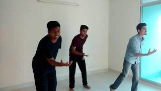 Jamai420 dance step demo