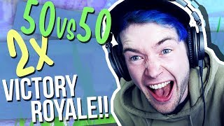 50 VS 50 in FORNITE BATTLE ROYALE!!! **super-crazy**