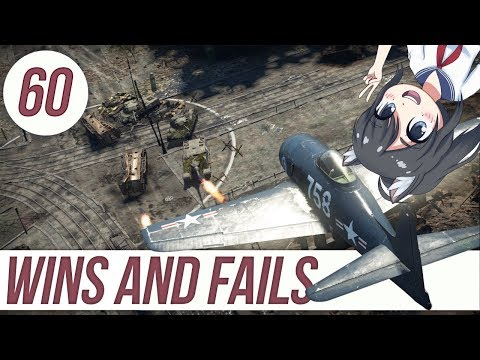 War Thunder: Wins 'n' Fails 60