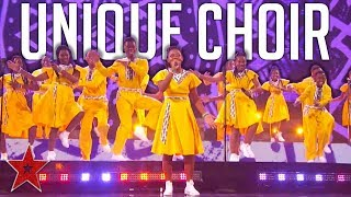 Choir Gets the Judges Dancing To AMAZING AFRICA Cover On America' Got Talent!   Got Talent Global