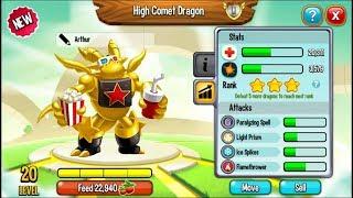 Dragon City - Movie Fanatic Dragon + Fighting PvP [EXCLUSIVE DRAGON]