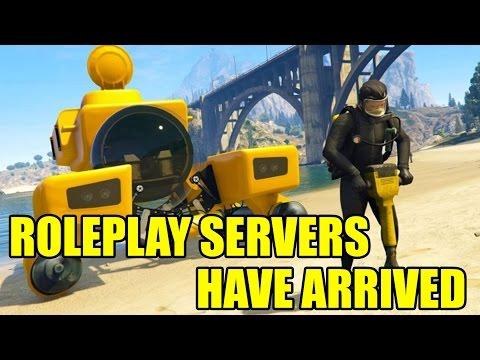 Grand Theft Auto V... Roleplay Server (Release Event)