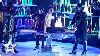 Tumar KR get experimental with a body-popping monster! | Semi-Final 4 | Britain's Got Talent 2016
