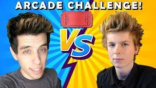 Arcade Warrior VS Matt3756 Arcade Tickets Challenge!!