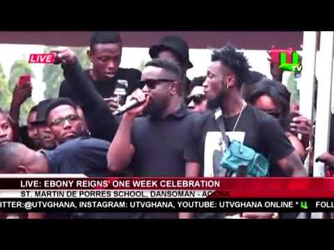 Xxx Mp4 Sarkodie S Emotional Speech At Ebony S 1 Week Celebration 3gp Sex