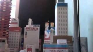 Japan Earthquake March 2011 Lego Miniature Movie