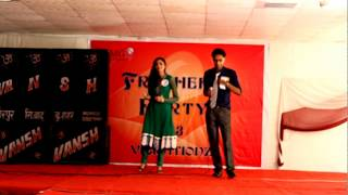 Kitabe Bahut Si - Ankur and Mamta at FMG on Fresher's Party 2013