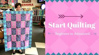 Start Quilting Program -  Beginner to Advanced