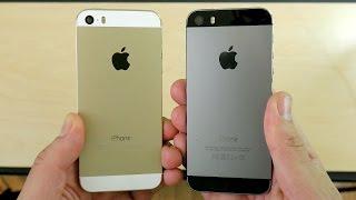 iPhone 5S iOS 10.2.1 vs iPhone 5S iOS 10.3