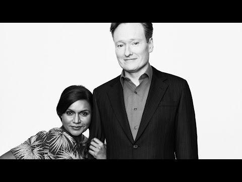 Actors on Actors Conan O Brien and Mindy Kaling Full Version