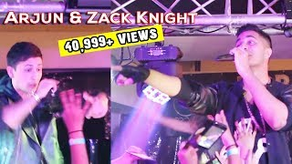 Arjun & Zack Knight Faces Each Other
