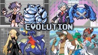 Evolution of Pokémon Champion Battles (1996 - 2016)