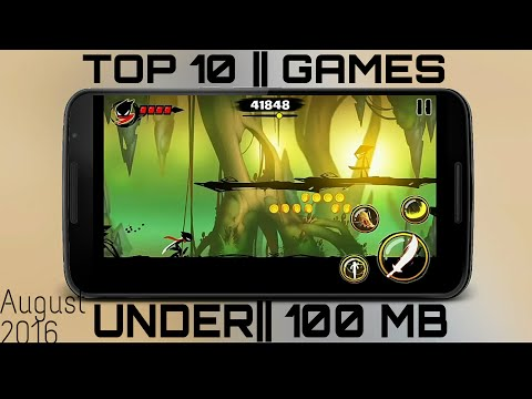 Top 10 Android Games    Addictive Under 100 MB!!