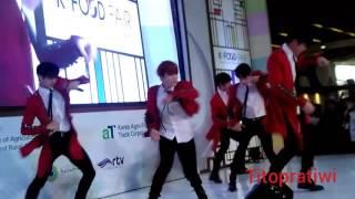 Boys In Groove (B.I.G) In Jakarta @ K-food Fair 2016 - Taola Live