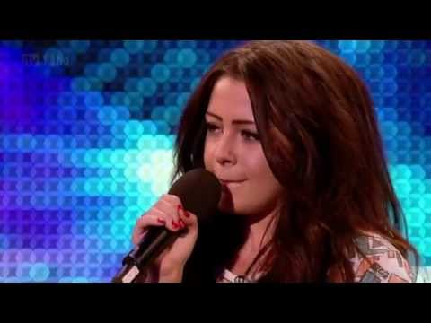 Chelsea Redfern - Purple Rain @ Britain's Got Talent 2012 Auditions