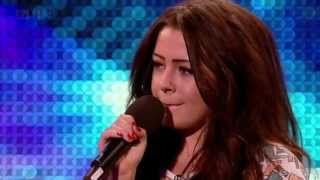 Chelsea Redfern - Purple Rain @ Britain's Got Talent 2012 Auditions