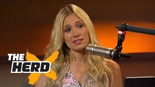 Kristine Leahy: Some players flash female reporters in the locker room | THE HERD