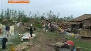 Cyclone aftermath in Myanmar - 05 May 2008