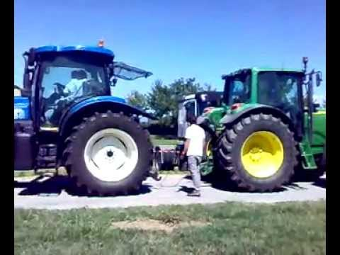 JOHN DEERE 6620 VS NEW HOLLAND TS135A