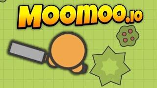MooMoo.io - No Base Challenge! - Top of Leaderboard! - Let