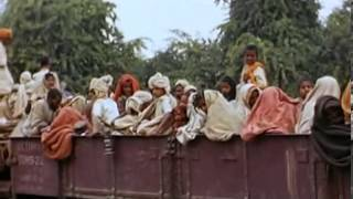 1947 Indian Independence rare color video clip