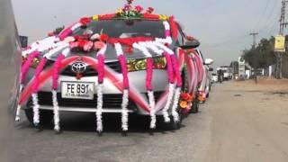 Hammad'S  Barat on The Way To Karor 2016