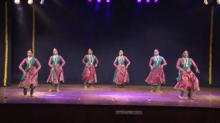 Tarang - Choreography by Dr. Rohini Bhate. Performed by Aarohini troupe.