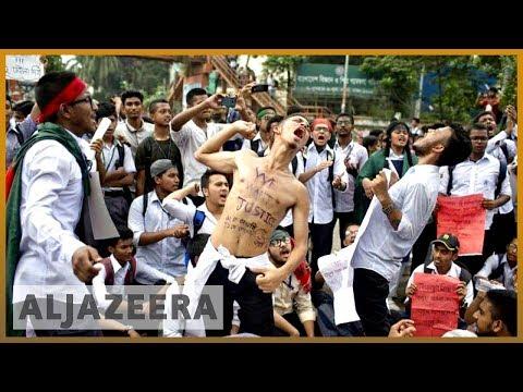 Xxx Mp4 🇧🇩 Bangladesh Shuts Down Mobile Internet In Protest Crackdown Al Jazeera English 3gp Sex